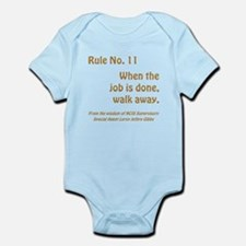 RULE NO. 11 Infant Bodysuit