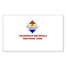 Hazardous Materials Response Team Decal