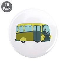 "City Bus 3.5"" Button (10 pack)"