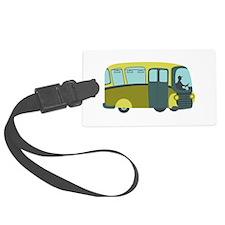 City Bus Luggage Tag
