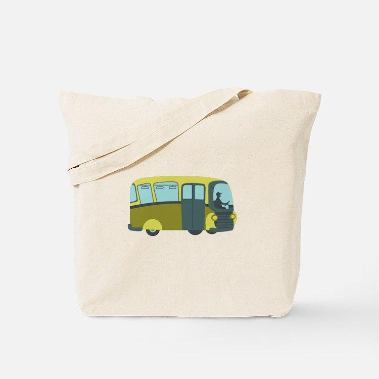 City Bus Tote Bag