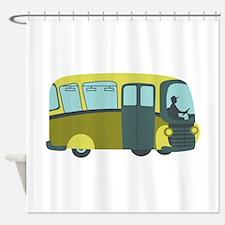 City Bus Shower Curtain