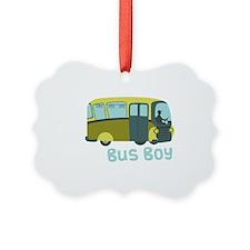 Bus Boy Ornament