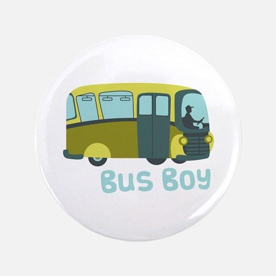 """Bus Boy 3.5"""" Button"""