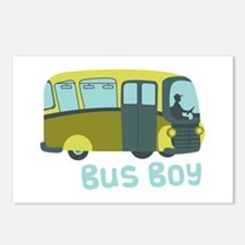 Bus Boy Postcards (Package of 8)
