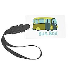 Bus Boy Luggage Tag