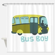 Bus Boy Shower Curtain