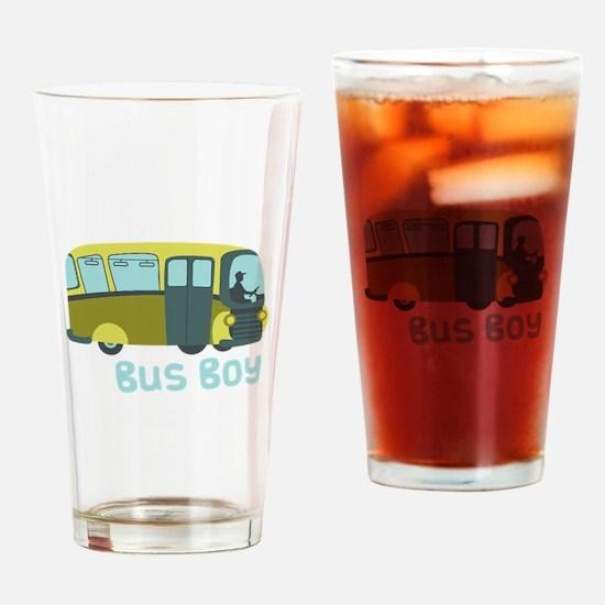 Bus Boy Drinking Glass