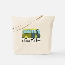 I Take The Bus Tote Bag