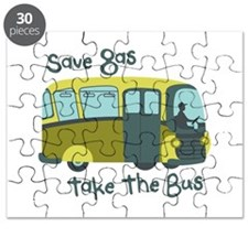Save Gas, Take The Bus Puzzle