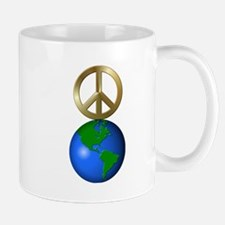 Peace on Earth Rebus Word Puzzle Mugs