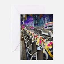 NYC Bikes Greeting Cards