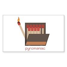 Pyromaniac Decal