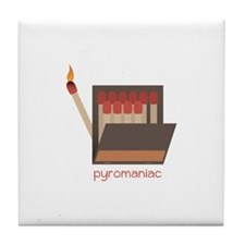 Pyromaniac Tile Coaster