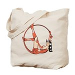 She-Devil Pin-Up Girl Tote Bag