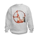 She-Devil Pin-Up Girl Kids Sweatshirt