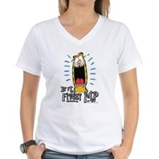 Friday Garfield Women's V-Neck T-Shirt