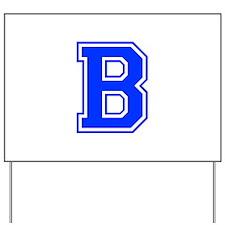 b-var-blue Yard Sign