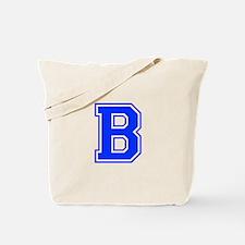 b-var-blue Tote Bag