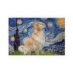 Starry Night & Golden Rectangle Magnet (10 pack)