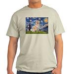 Starry Night & Golden Light T-Shirt