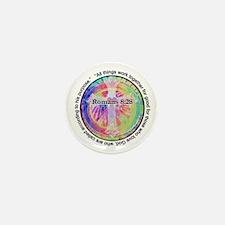 Cute Tye dye Mini Button (100 pack)