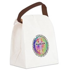 Cute Peace dye Canvas Lunch Bag