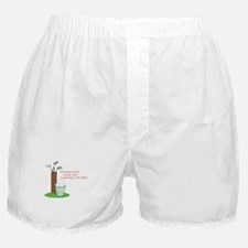 Bad Day Of Golf Boxer Shorts