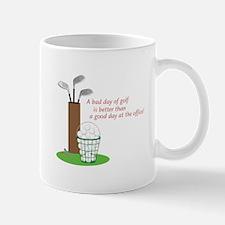 Bad Day Of Golf Mugs