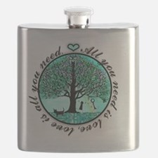 Funny Tree life Flask