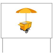 Food Cart Yard Sign