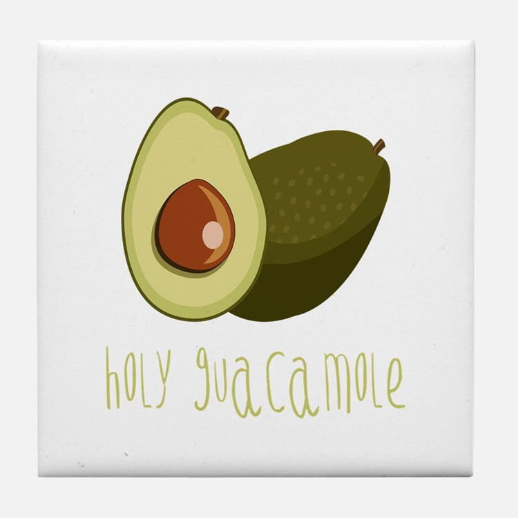 Holy Guacamole Tile Coaster