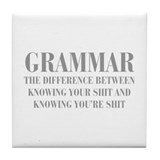 Grammar Drink Coasters