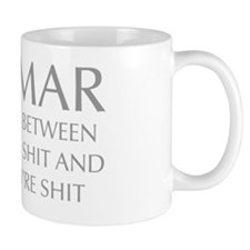 Grammar the difference between knowing  Mug