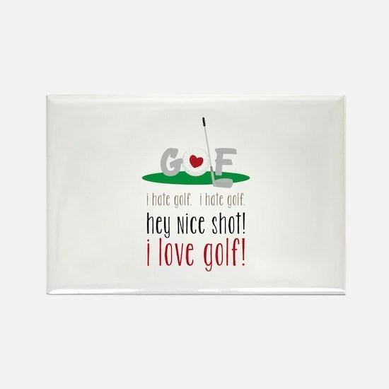 I Love Golf Magnets