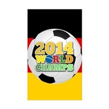 2014 World Champs Ball - Germany Decal