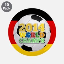 """2014 World Champs Ball - Germany 3.5"""" Button (10 p"""