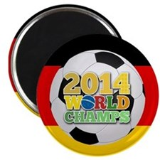 2014 World Champs Ball - Germany Magnets