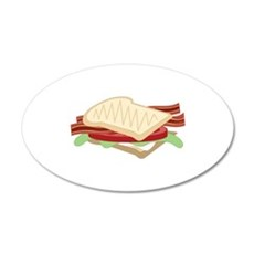 BLT Sandwich Wall Decal