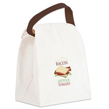Bacon Lettuce Tomato Canvas Lunch Bag