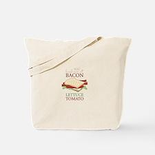 Bacon Lettuce Tomato Tote Bag