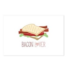 Bacon Lover Postcards (Package of 8)