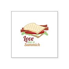 Sammich Love Sticker
