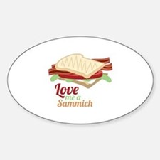 Sammich Love Decal