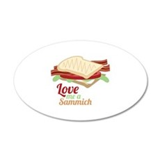Sammich Love Wall Decal