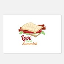 Sammich Love Postcards (Package of 8)