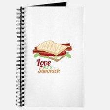 Sammich Love Journal
