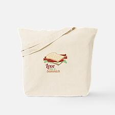 Sammich Love Tote Bag