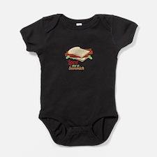 Sammich Love Baby Bodysuit