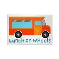 Lunch On Wheels Magnets